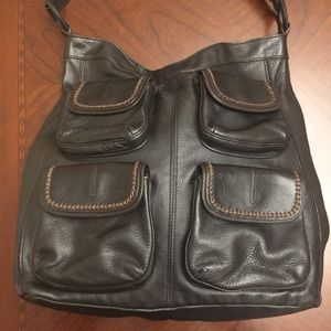 Banana Republic Genuine Leather Handbag